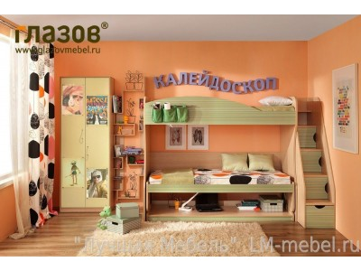 """Такого еще не было! - 30 % на коллекцию мебели для детской """"Калейдоскоп"""""""