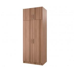Шкаф 2-х створчатый с перегородкой BTS