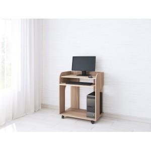 Стол компьютерный Грета-10 (Ясень шимо)