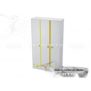 Шкаф 3-х створчатый Мамба ШК-16