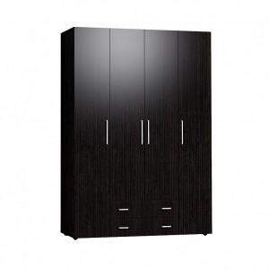 Монако 555 Шкаф для одежды и белья Стандарт (Венге)