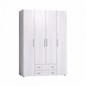 Монако 555 Шкаф для одежды и белья Стандарт (Ясень Анкор светлый)