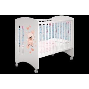 Детская кроватка Софи Мишка Бэйби базовая