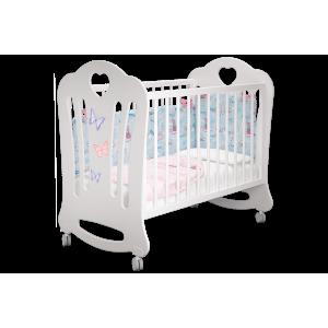 Детская кроватка Шарлотта птички