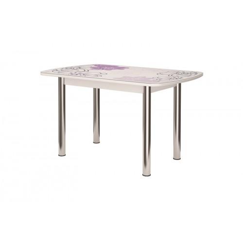 Стол обеденный Бостон-2 Виолет 1100х700 (опора брифинг)