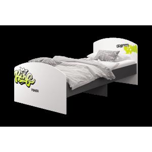 Кровать 90*200 (без матраса) Граффити