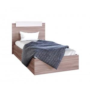 Кровать ЭКО 1,2 Ясень шимо