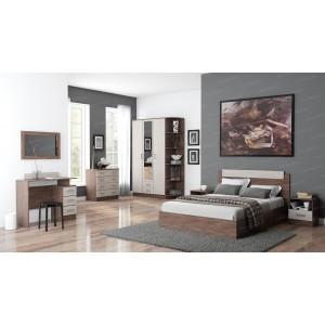 Спальня ЭКО ясень шимо (Комплект 1)