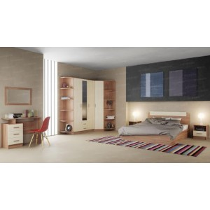Спальня ЭКО ясень шимо (Комплект 2)