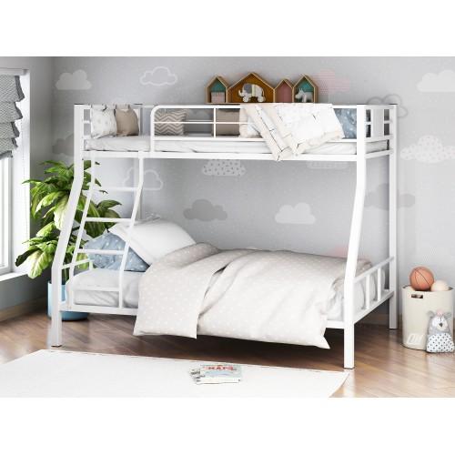Двухъярусная металлическая кровать Гранада-1