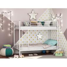 Двухъярусная металлическая кровать Севилья-2