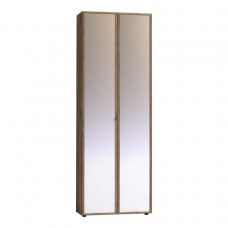 Шкаф для одежды фасад Зеркало+Зеркало Nature 92 (молодежная)