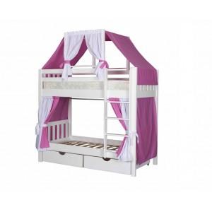 Кровать двухъярусная Скворушка-6