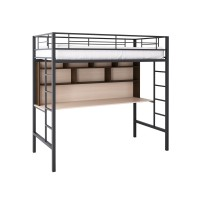 Кровать-чердак металлическая Севилья-1-2