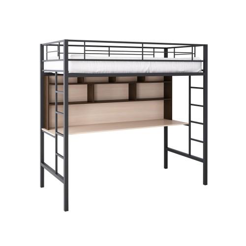 Кровать-чердак металлическая Севилья-1.2
