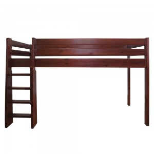 Кровать-чердак Маугли из массива сосны
