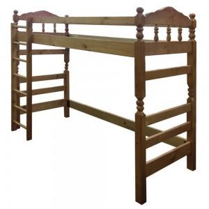 Кровать-чердак Рикардо из массива сосны