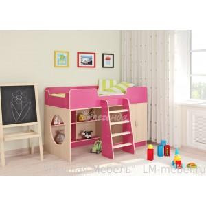 Кровать-чердак Легенда 2.1 для детей от 3-х лет