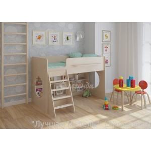 Кровать-чердак Легенда 22.1 для детей от 3-х лет