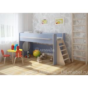 Кровать-чердак Легенда 23.1 для детей от 3-х лет