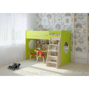 Кровать-чердак Легенда 26.1 для детей от 3-х лет