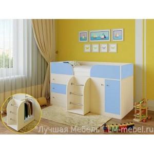 Кровать-чердак Малыш 4 Ярофф