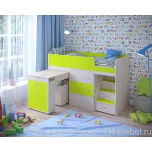 Кровать-чердак Малыш Ярофф