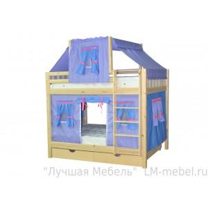 Кровать двухъярусная Скворушка-3