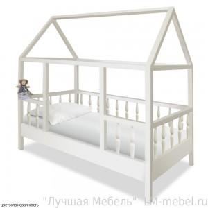 Кроватка Миа из массива сосны