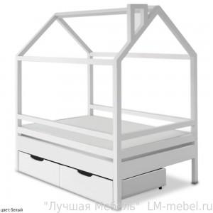 Кроватка Пеппи из массива сосны