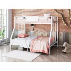Двухъярусная металлическая кровать Гранада 140