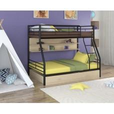 Двухъярусная металлическая кровать Гранада-2ПЯ