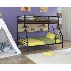 Двухъярусная металлическая кровать Гранада-2П
