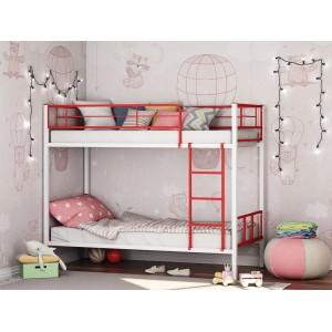 Двухъярусная металлическая кровать Севилья-2-01 КОМБО