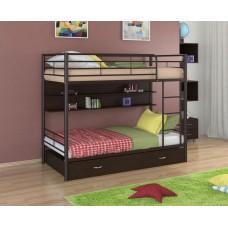 Двухъярусная металлическая кровать Севилья-3ПЯ