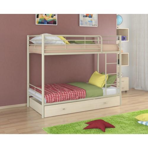 Двухъярусная металлическая кровать Севилья-3Я