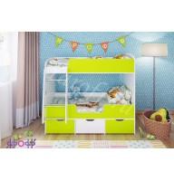 Кровать двухъярусная Малыш двойняшка Ярофф