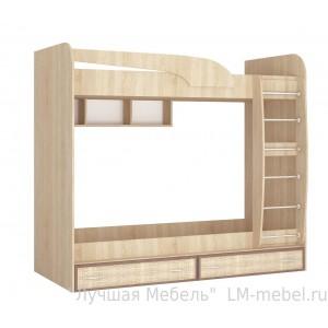Двухъярусная кровать Джульетта ДДКР-2