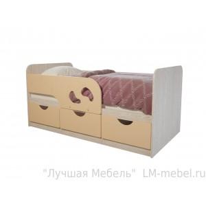 Кровать детская Минима Лего Крем-брюле