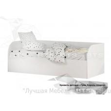 Кровать детская Трио с подъемным механизмом КРП-01 (Белый)