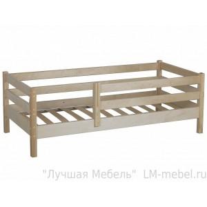 Кровать Кроха - 1 натуральное дерево