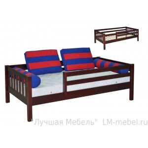 Кровать Кроха (Малыш) массив сосны без ящиков