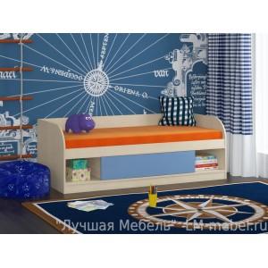 Кровать Соня 4 Дуб молочный для детей от 1 года до 10 лет