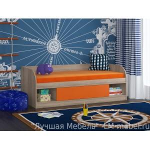 Кровать Соня 4 Дуб сонома для детей от 1 года до 10 лет