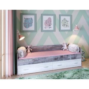 Кровать Юта (нижняя) Ярофф