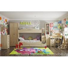 Детская комната ADELE (Адель) компоновка 6