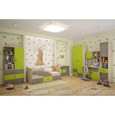 Детская комната Алиса 2 ТД Шагус