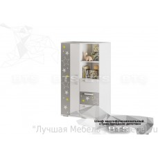 Шкаф многофункциональный Трио ШК-10 (Звездное детство/Белый)