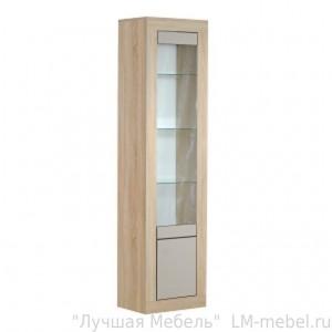 Шкаф с витриной 2Д Лондон 0467.6 КМК