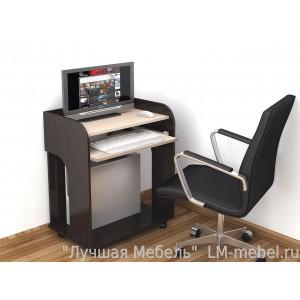 Стол компьютерный Грета-10 (венге)